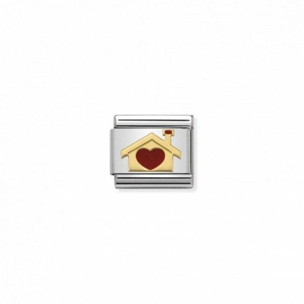 Link Nomination Composable Classic Casa com Coração - 030283/07