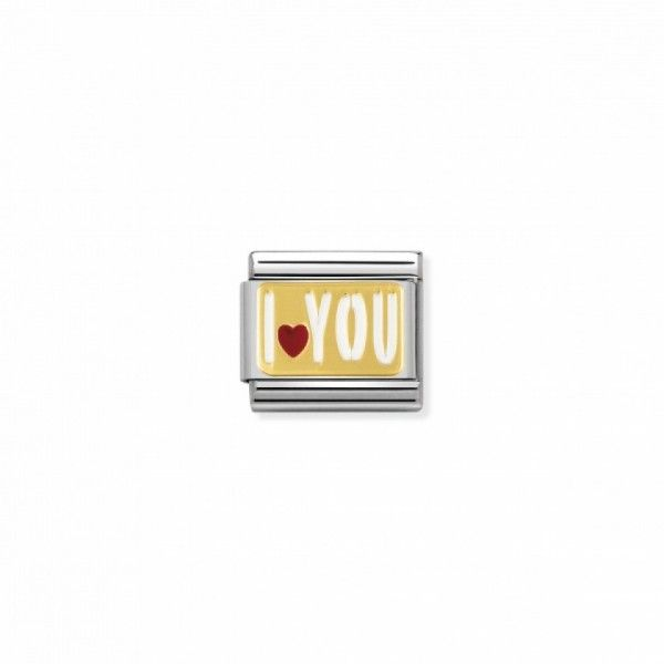 Link Nomination Composable Classic I Love You - 030261/27