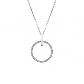 Colar Hot Diamonds Constant Circle 25mm - DP718