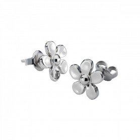 Brincos One Jewels Metal Flower - OJME01