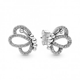 Brincos PANDORA Butterfly Outlines - 297912CZ
