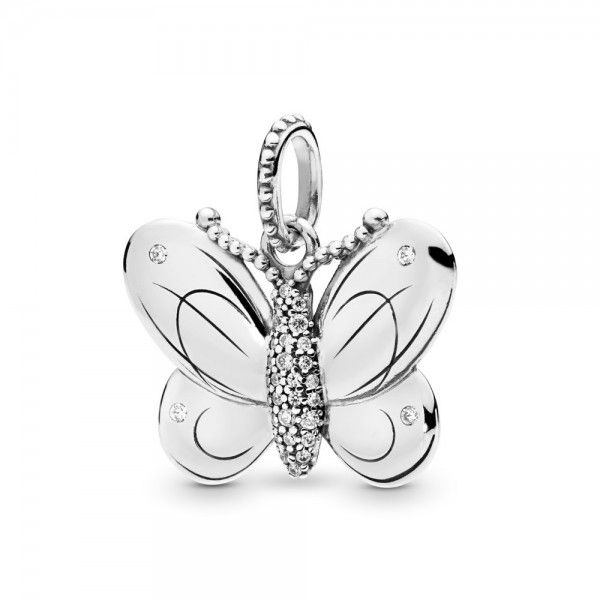 Pendente PANDORA Decorative Butterfly - 397933CZ