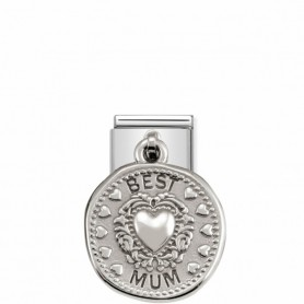 Link Nomination Composable Classic Pendente Best Mum - 331804/12