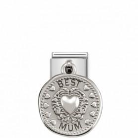 Link Nomination Composable Classic Pendente Best Mum - 331804/12