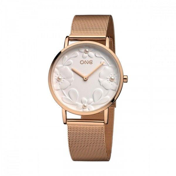Relógio One Pearl Rosegold - OL8215BR91L