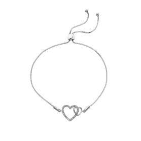 Pulseira Hot Diamonds Togetherness Open Heart - DL589