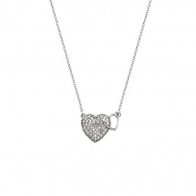Colar Hot Diamonds Togetherness Heart - DP730
