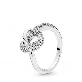Anel PANDORA Knotted Heart - 198086CZ