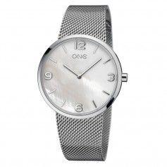 Relógio One Retro Prateado - OL7729BG81L