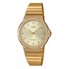 Relógio Casio Collection Vintage Analógico Dourado - MQ-24G-9EEF