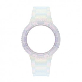 Bracelete Watx and Co 38mm Original Iris Prateado - COWA1535