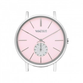 Relógio Watx and Co 38mm Analógico Iris Rosa - WXCA1016