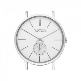 Relógio Watx and Co 38mm Analógico Iris Prateado - WXCA1015