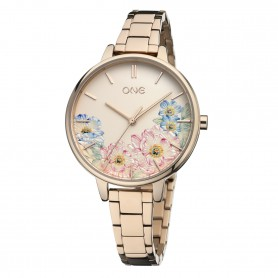 Relógio One Summer Blossom 2019 Rosa - OL0076RR91W