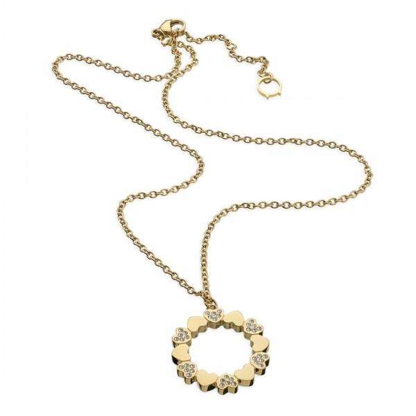 Colar One Jewels Pashion Dourado - OJPN01