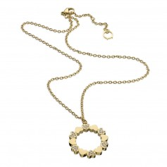 Colar One Jewels Pashion Dourado - OJPN01
