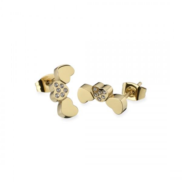 Brincos One Jewels Pashion Dourados - OJPE01