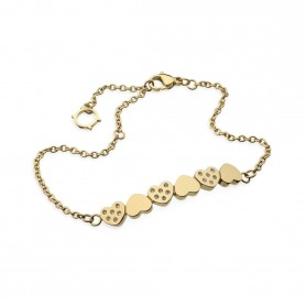Pulseira One Jewels Pashion Dourada - OJPB01