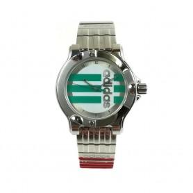 Relógio Adidas Prateado Verde - 11322