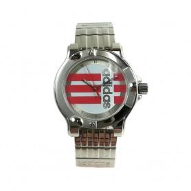 Relógio Adidas Prateado Vermelho - 11317