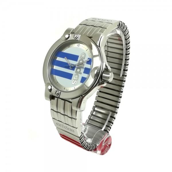 Relógio Adidas Prateado Azul - 11311