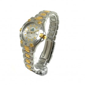 Relógio Adidas Prateado Dourado - 11059
