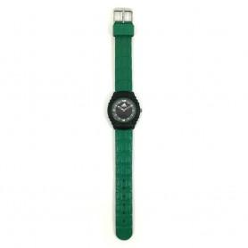 Relógio Adidas Preto Verde - 11337