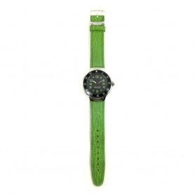 Relógio Benetton Prateado Verde - 945.0003.20