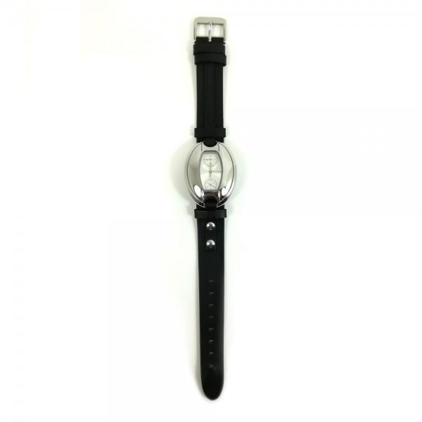 Relógio Mango Prateado Preto - QM5111301