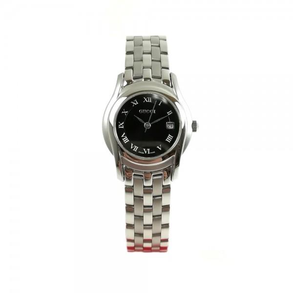 Relógio Gucci Prateado Preto - 25535