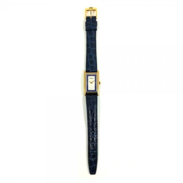 Relógio Gucci Dourado Azul - 22655