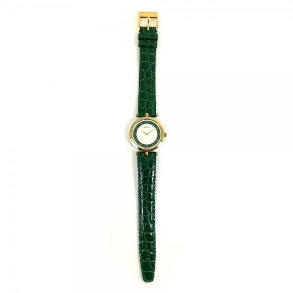 Relógio Gucci Dourado Verde - 12054