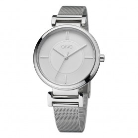Relógio One Code Prateado - OL7981BS81L