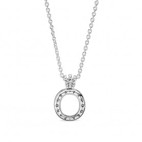 Colar PANDORA Lockets Crown O - 398332