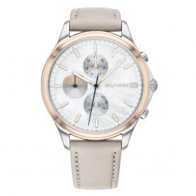 Relógio Tommy Hilfiger Whitney Prateado e Rosa - 1782118