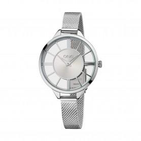 Relógio One Axial Prateado - OL0180SS91W