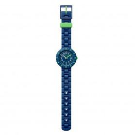 Relógio Flik Flak Solo Dark Blue - ZFCSP086