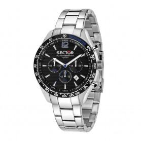Relógio Sector 245 Cronómetro Prateado - R3273786010