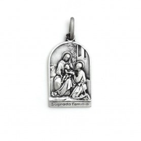 Medalha em Prata Sagrada Família