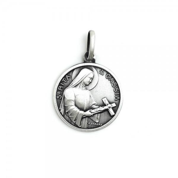 Medalha em Prata Santa Rita de Cássia