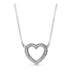 Colar PANDORA Loving Hearts - 590534CZ