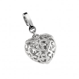 Pendente One Jewels Energy 3D Coração Aberto - OJE3D03