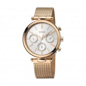 Relógio One Impressive Dourado Rosa - OL8497RR92L