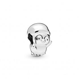Conta PANDORA Pinguim de Natal - 798477C00