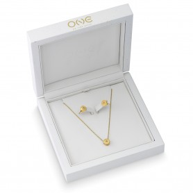 Set Colar e Brincos One Jewels Diamond Box - OJDEN01