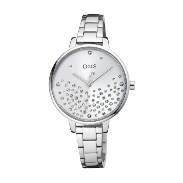Relógio One Bright Prateado - OL0450SS92W