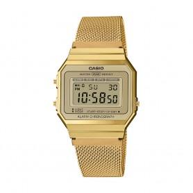 Relógio Casio Digital Vintage Edgy Dourado - A700WEMG-9AEF