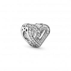 Conta PANDORA Sparkling Freehand Heart - 798692C01
