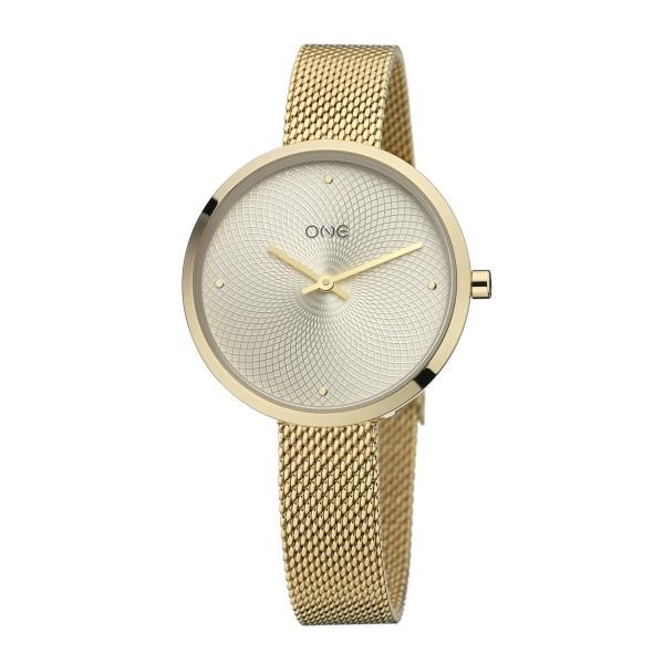 Relógio One Unique Dourado - OL0898DD92P