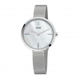 Relógio One Unique Prateado - OL0898SS92P